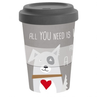 Travel Mug, AND A DOG! Erdbeerpunkt Online Shop Schweiz