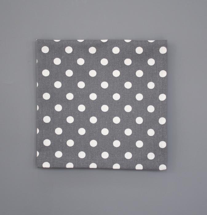 stoffservietten charcoal white dots servietten k chentuch tuch tischset tupfen t pfli. Black Bedroom Furniture Sets. Home Design Ideas