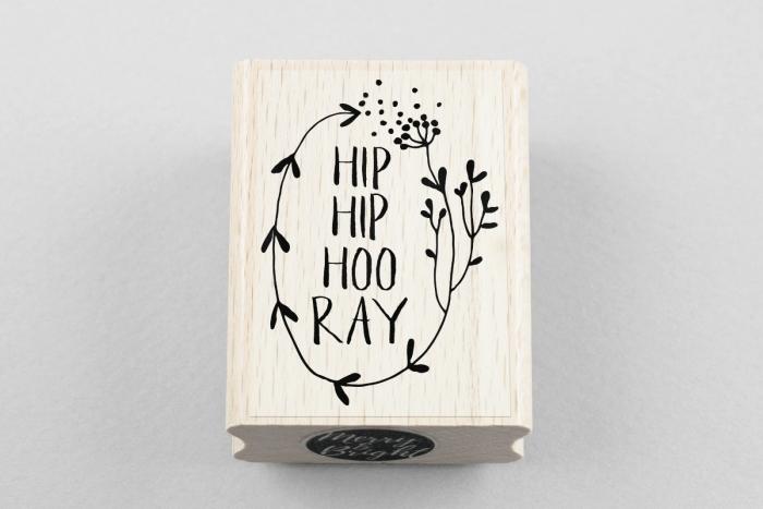 Stempel Hip Hip Hoo Ray Gebacken Gekocht Verschenken Geschenke