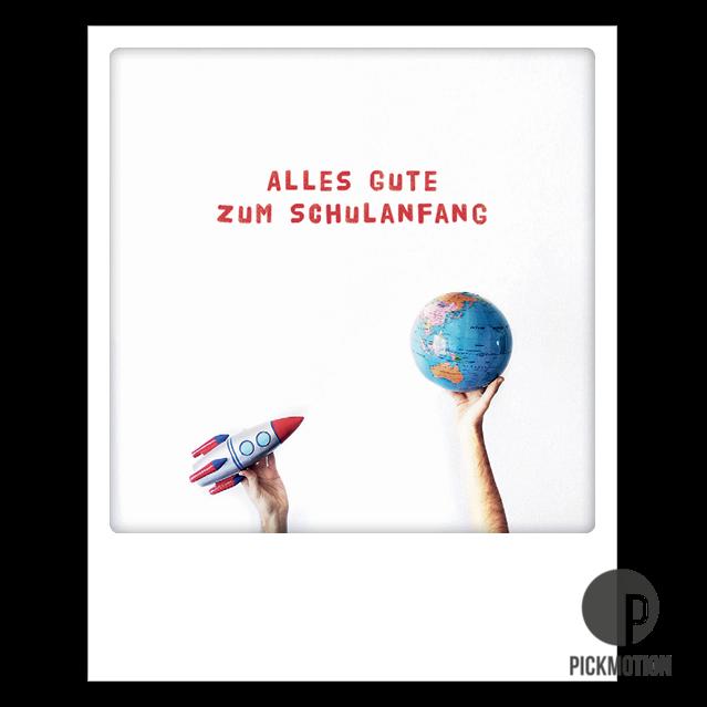 Karte Schreiben Schulanfang.Postkarte Pickmotion Zum Schulanfang Lebensfreude Karte